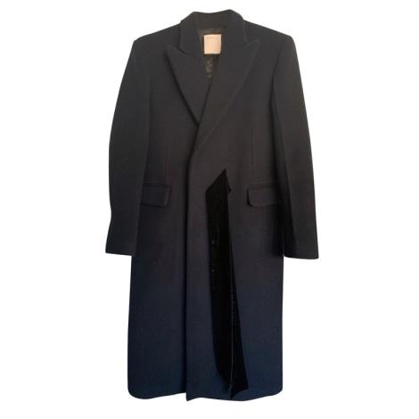 Manteau SANDRO Bleu, bleu marine, bleu turquoise