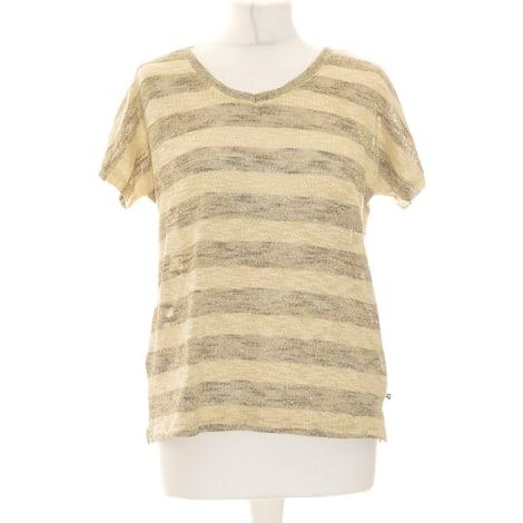 Top, tee-shirt LE TEMPS DES CERISES Jaune