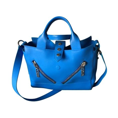 Lederhandtasche KENZO Kalifornia Blau, marineblau, türkisblau