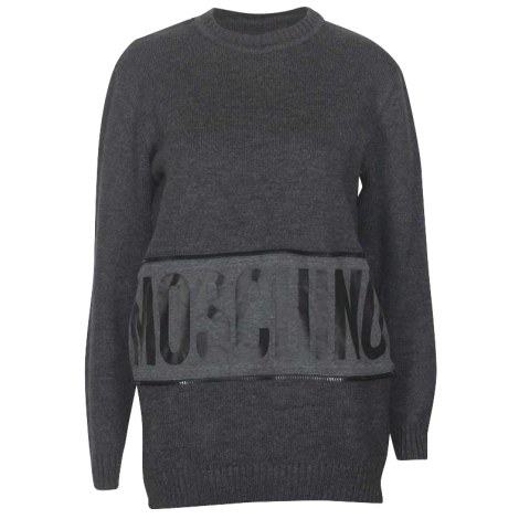 Pull MOSCHINO Gris, anthracite