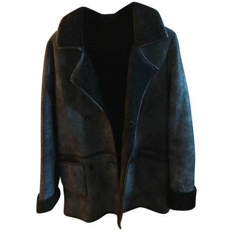 Manteau AMERICAN RETRO Bleu, bleu marine, bleu turquoise