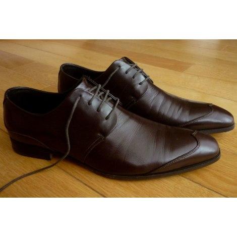 Chaussures à lacets MONDERER Marron