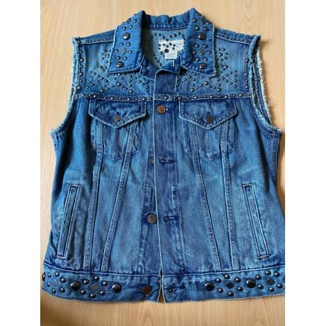 Manteau en jean RALPH LAUREN Bleu, bleu marine, bleu turquoise