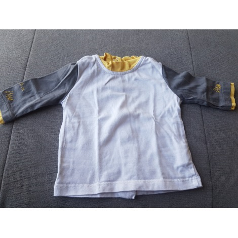 Top, tee shirt SUCRE D'ORGE Blanc, blanc cassé, écru