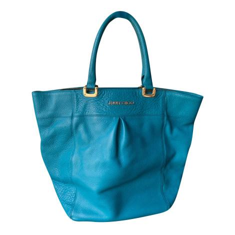 Lederhandtasche JIMMY CHOO Blau, marineblau, türkisblau