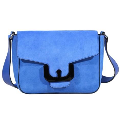 Sac en bandoulière en cuir COCCINELLE Bleu, bleu marine, bleu turquoise