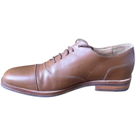 Chaussures à lacets MELINDA GLOSS Marron