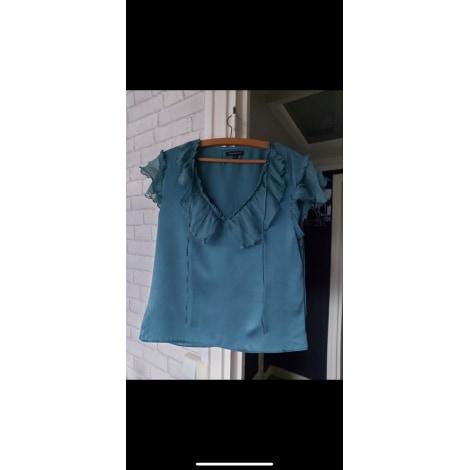 Blouse TARA JARMON Bleu, bleu marine, bleu turquoise
