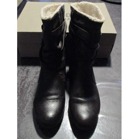 Bottines & low boots plates PALLADIUM Marron
