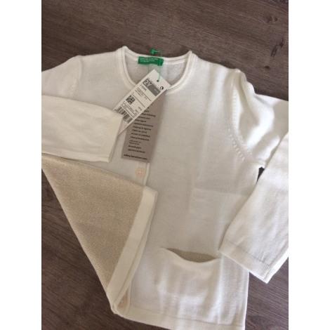 Gilet, cardigan UNITED COLORS OF BENETTON Blanc, blanc cassé, écru