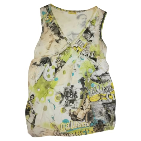 Top, tee-shirt JOHN GALLIANO Multicouleur
