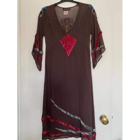 Robe courte ANTIK BATIK Gris, anthracite