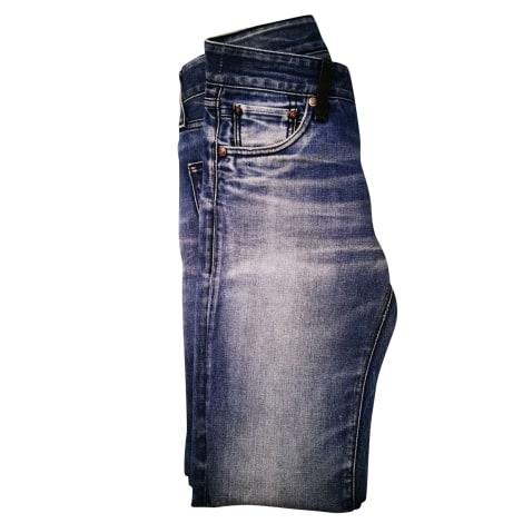 Jeans slim REPLAY Bleu, bleu marine, bleu turquoise