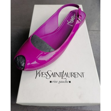 Chaussures de danse  YVES SAINT LAURENT Rose, fuschia, vieux rose