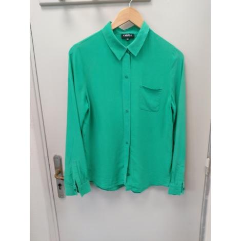 Chemisier CAROLL Vert