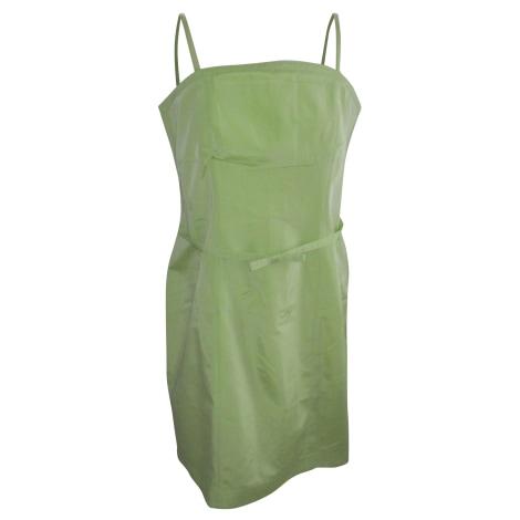 Robe mi-longue ALAIN MANOUKIAN vert tilleul