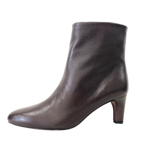 High Heel Ankle Boots AVRIL GAU Red, burgundy