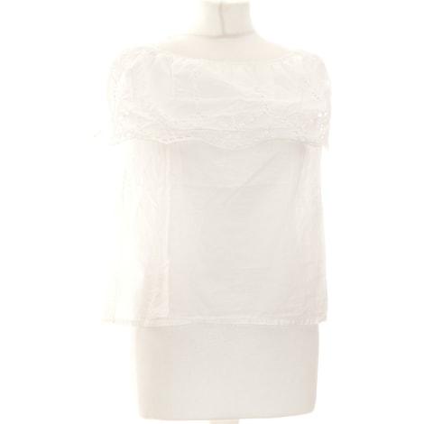 Top, tee-shirt ONLY Blanc, blanc cassé, écru