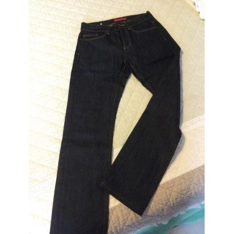 Jeans droit VICOMTE A. Bleu, bleu marine, bleu turquoise