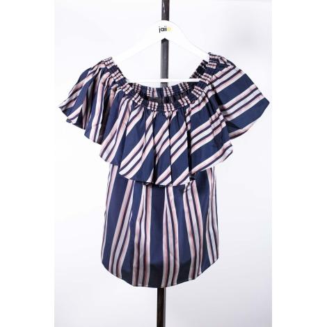 Top, tee-shirt PINKO Bleu, bleu marine, bleu turquoise