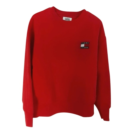Sweat TOMMY HILFIGER Rouge, bordeaux