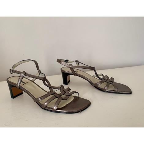 Sandales à talons PERLATO Doré, bronze, cuivre