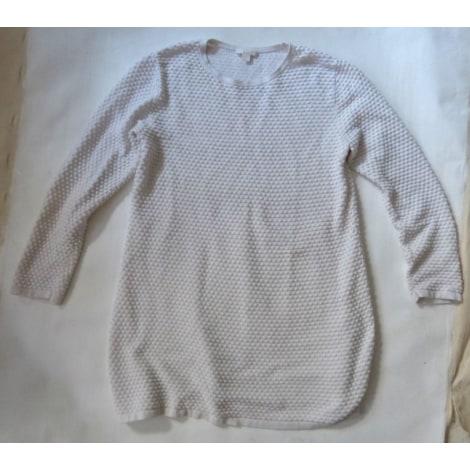 Pull tunique COS Blanc, blanc cassé, écru