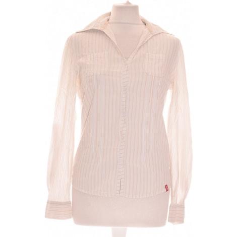Chemise ESPRIT Blanc, blanc cassé, écru