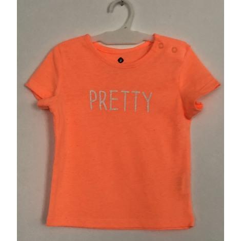 Top, tee shirt GRAIN DE BLÉ Orange
