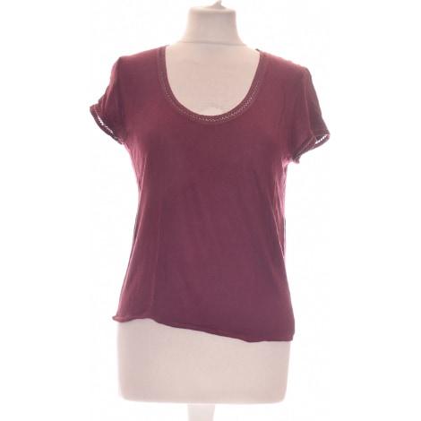 Top, tee-shirt KOOKAI Rouge, bordeaux