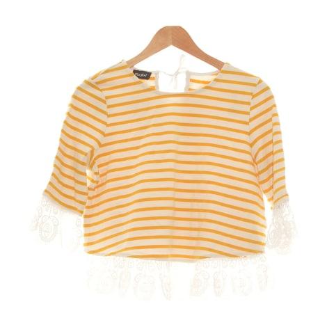 Top, tee-shirt KOOKAI Jaune
