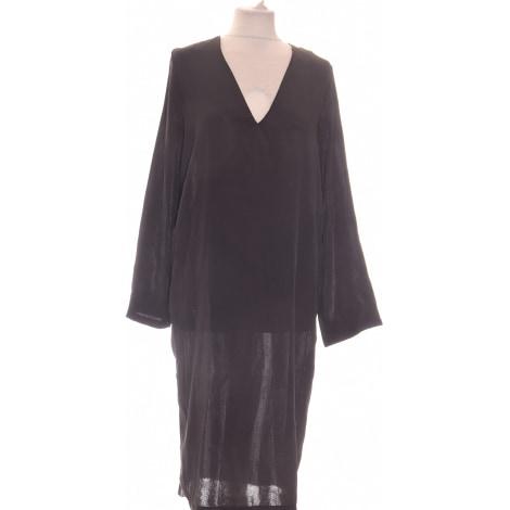 Robe mi-longue ZARA Noir
