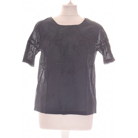 Tops, T-Shirt BA&SH Schwarz