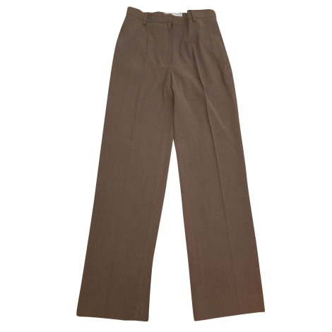 Pantalon droit MAX MARA Marron
