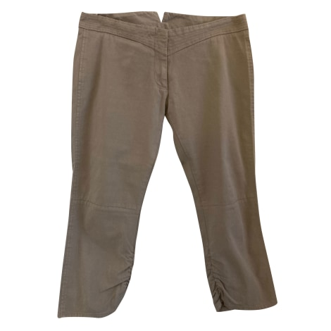 Pantalon droit ISABEL MARANT Beige, camel