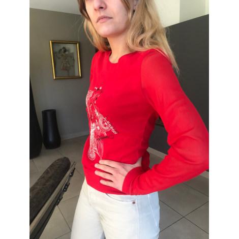 Top, tee-shirt CHRISTIAN LACROIX Rouge, bordeaux