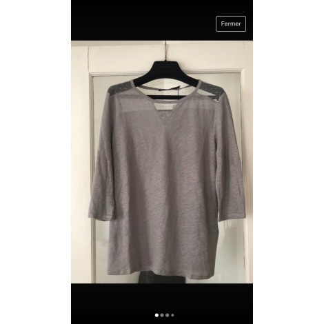 Top, tee-shirt BERENICE Gris, anthracite