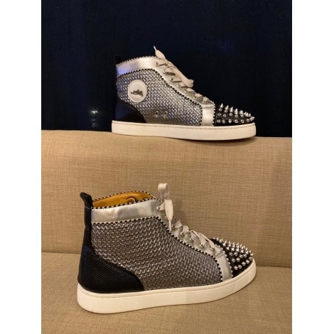 Baskets CHRISTIAN LOUBOUTIN Louis Gris, anthracite