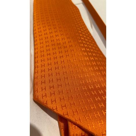 Krawatte HERMÈS Orange
