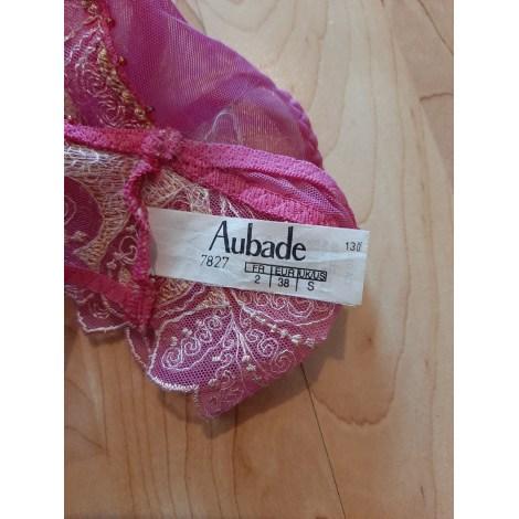 Culotte AUBADE Rose, fuschia, vieux rose