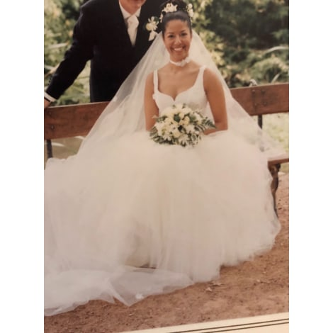 Robe de mariée MAX CHAOUL Blanc, blanc cassé, écru