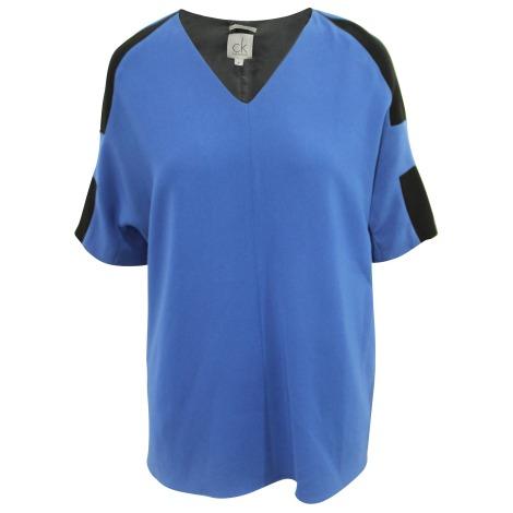 Chemisier CALVIN KLEIN Bleu, bleu marine, bleu turquoise
