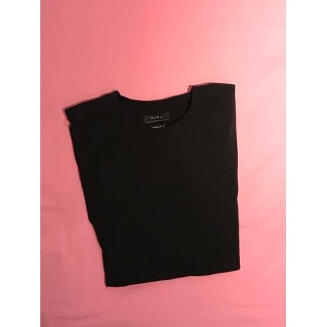 Tee-shirt ZARA Noir