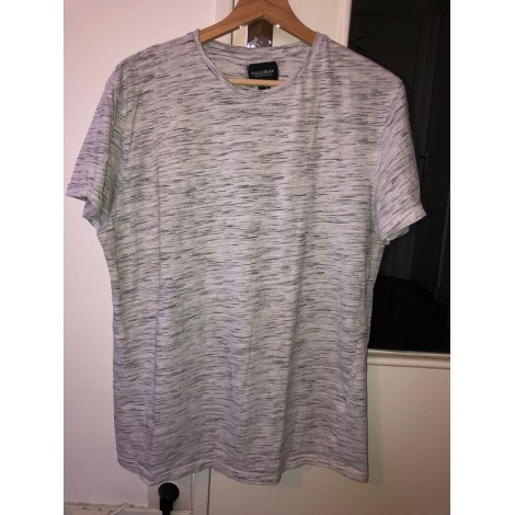 Tee-shirt PULL & BEAR Gris, anthracite