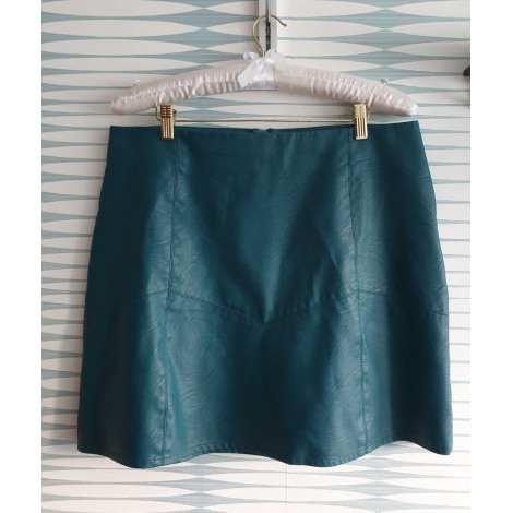 Jupe courte ETAM Bleu, bleu marine, bleu turquoise