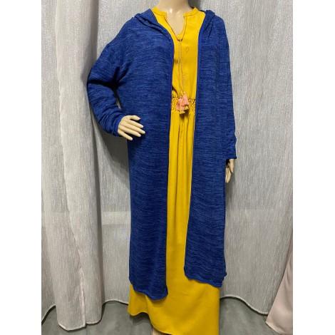 Gilet, cardigan WAELFA Bleu, bleu marine, bleu turquoise