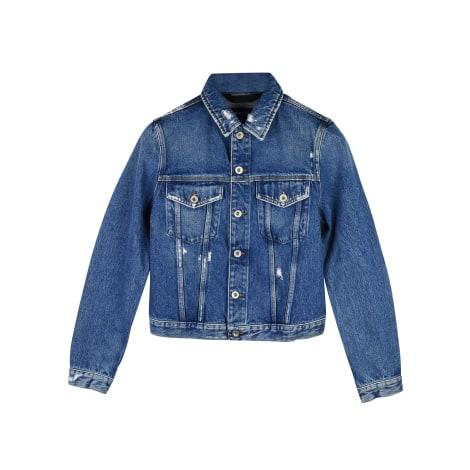 Veste en jean DIESEL Bleu, bleu marine, bleu turquoise