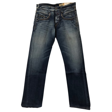 Straight Leg Jeans REPLAY Blue, navy, turquoise