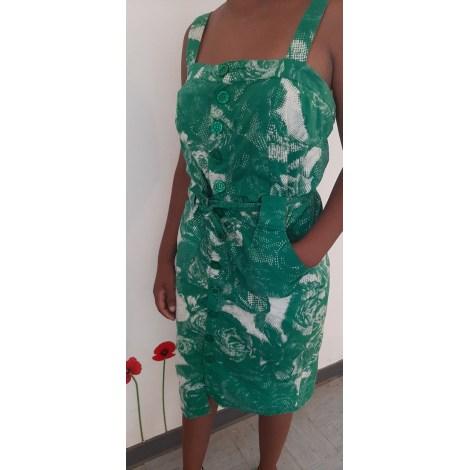 Robe mi-longue LOLAKIO Vert