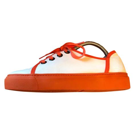 Chaussures à lacets  ARCHE Blanc et orangé